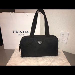 bca8594038 Authentic prada tote purse satchel shoulder bag